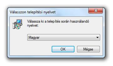 Telepites 2 - Nyelv-valasztas
